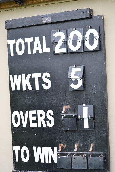 2nd XI's first 200 of the season.