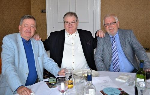 Keith Froggott,  Allan Sherratt,  Martin Tute.