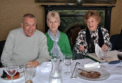 Dave & Sue Rushton with Carole Barlow